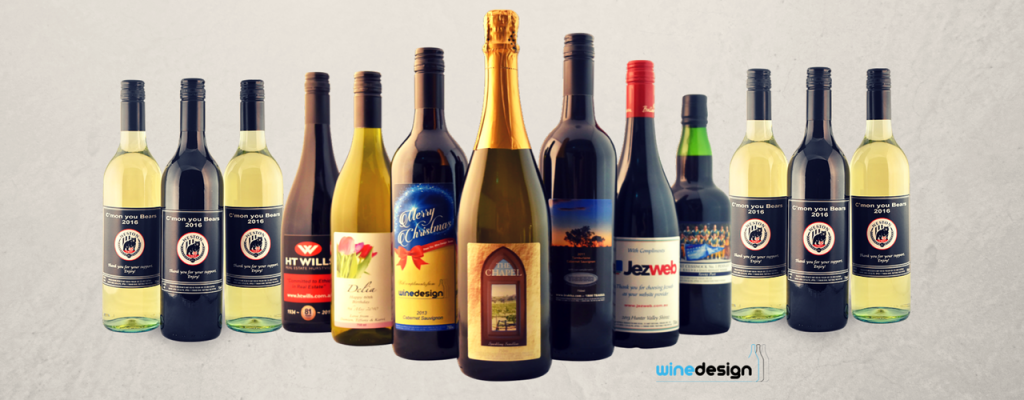 customised wine labels